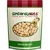 Sincerely Nuts Blanched Hazelnuts (Filberts) Roasted & Unsalted No Shell - One Lb. Bag - Utterly Crunchy and Delicious - Filled with Healthy Nutrients - Kosher