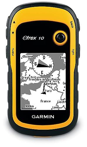 Garmin eTrex 10 Worldwide Handheld GPS Navigator