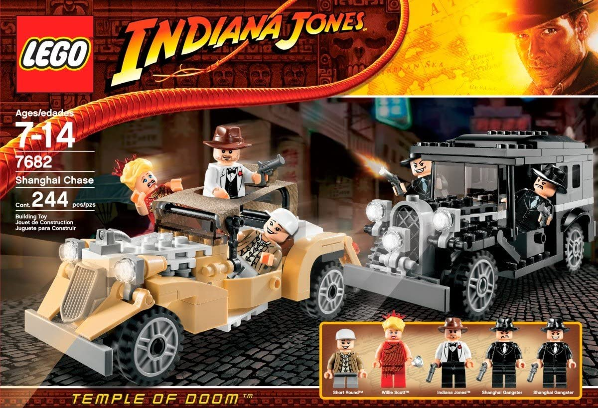 LEGO Indiana Jones Shanghai Chase (7682)