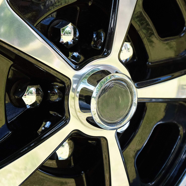 autoadesivo plastica flessibile Tuning 25/mm x 5/meter cromato modanatura pu/ò permettersi listello cromato