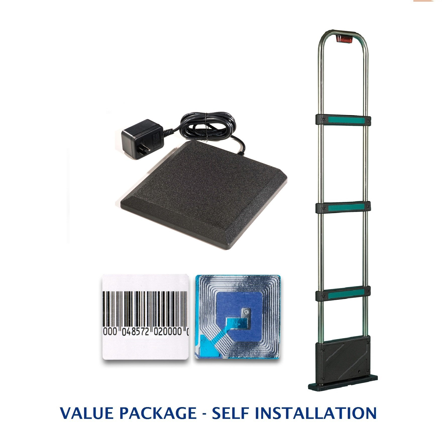 Retail Security Value Pack Including Tower + Deactivator + Soft Labels - EAS Loss Prevention - MADE IN USA by Sensornation (Image #2)