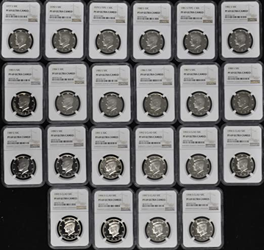 2015 s silver Kennedy half dollar NGC PF 69 Ultra Cameo