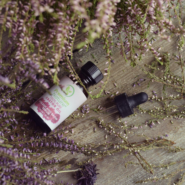 Amazon.com: Aceite de ricino de pestañas y cejas Suero: Beauty