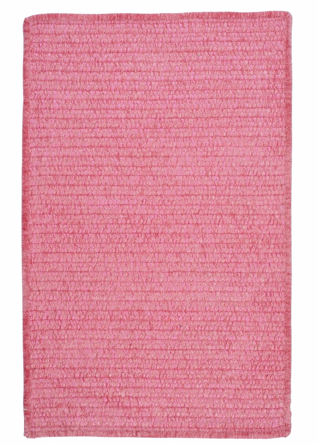 Ambiant Silken Rose Chair Pad M701 Kids / Teen Pink 15''X15'' (SET 4) - Area Rug