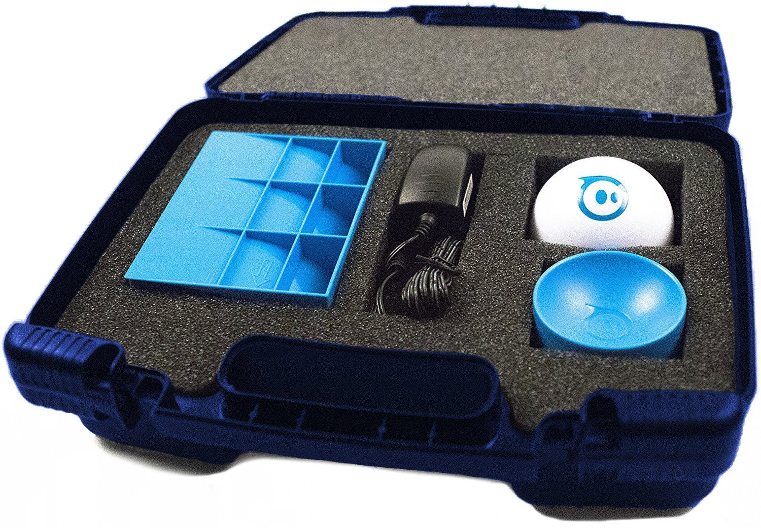 Life Made Better Storage Organizer - Compatible with Sphero 2.0 The App-Controlled Robot Ball and Accessories- Durable Carrying Case - Blue by Life Made Better (Image #8)