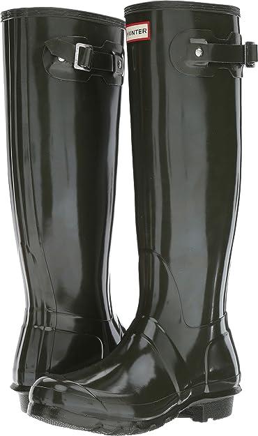 afbd4c0a6f68 Amazon.com   Hunter Women's Original Tall Rain Boot   Knee-High