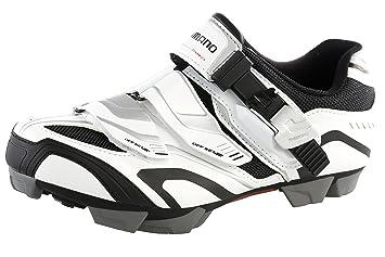 Zapatillas Shimano SH-XC50 blanco/negro para hombre Talla 44 2014: Amazon.es: Deportes y aire libre