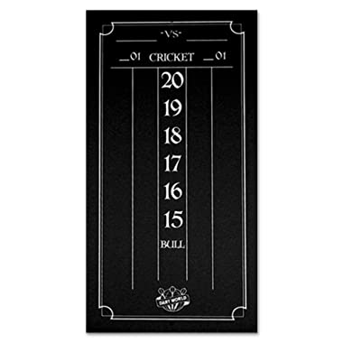 Dart World Cricketeer Mini Scoreboard, Black