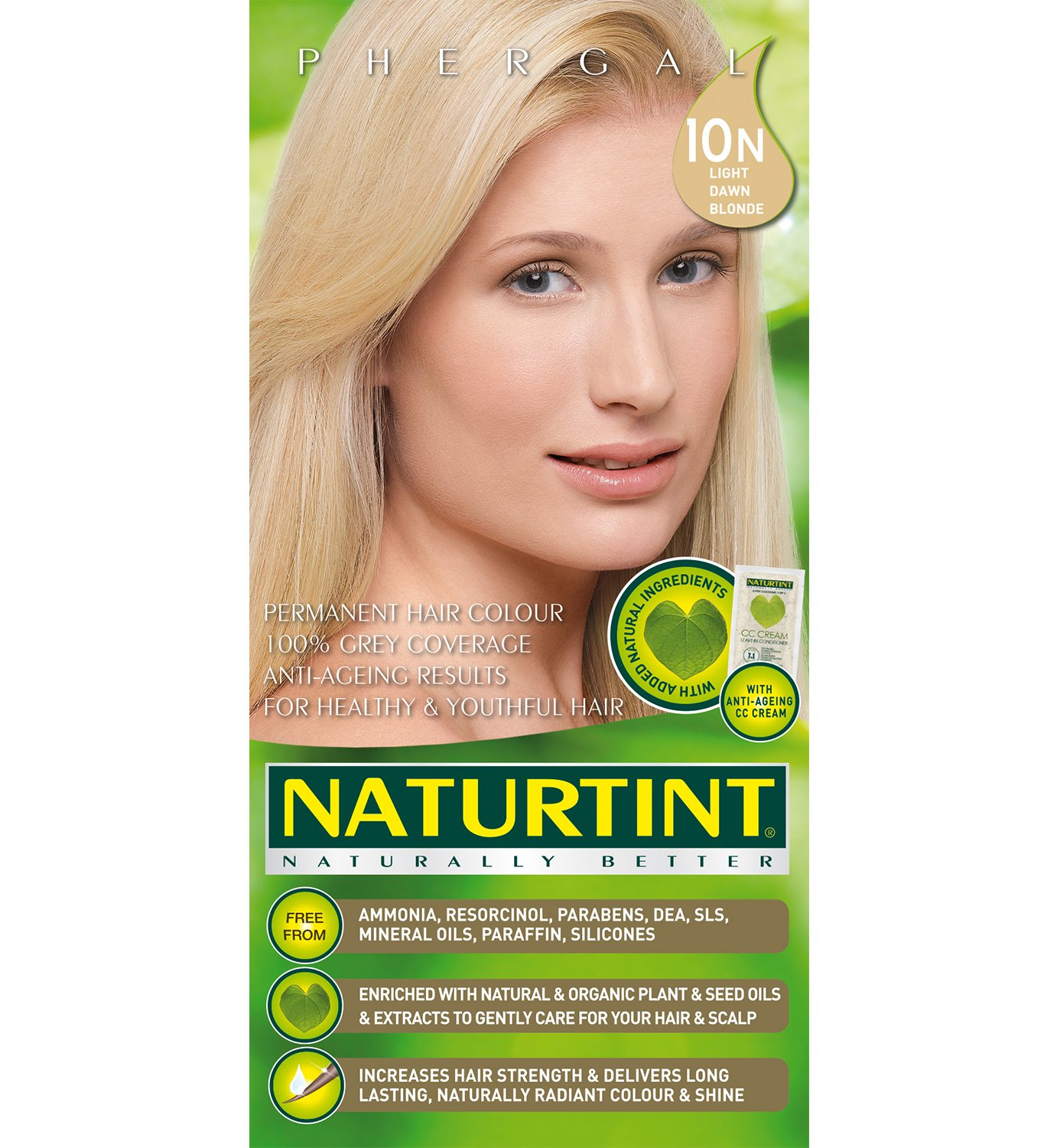 Amazon Naturtint Hair Color Permanent 10n Light Dawn Blonde