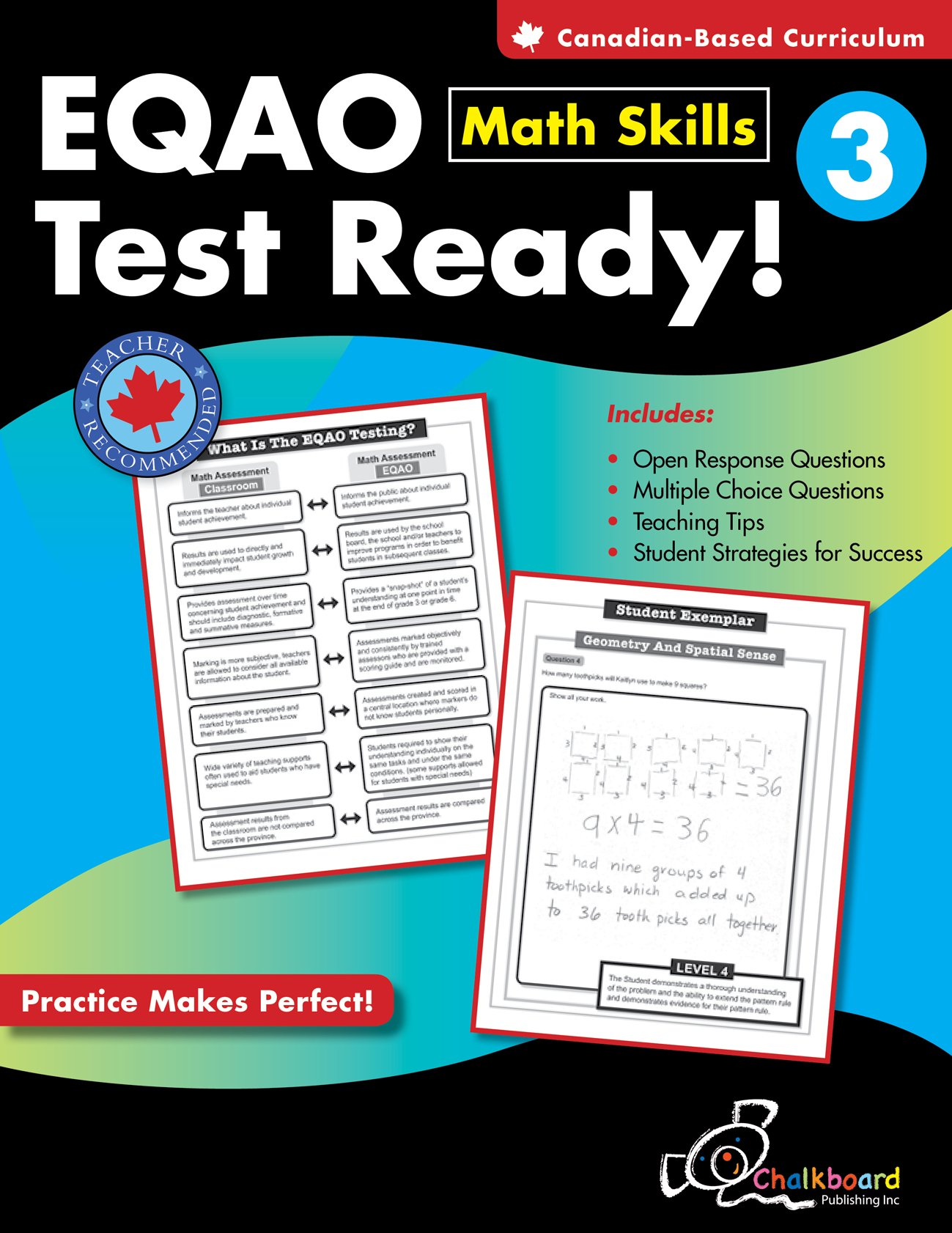 EQAO Test Ready Math Skills 3: Demetra Turnbull: 9781897514252 ...
