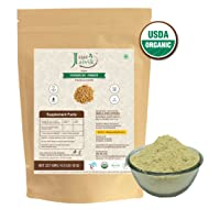Just Jaivik 100% Organic Fenugreek Powder- 0.5 LB/227g/08 oz-