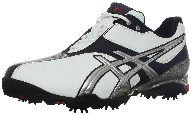 ASICS Men's Gel-Ace Tour 3 Golf Shoe B008B84EC8 7.5 D(M) US|White/Silver/Black