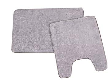 Amazon Com 2 Pc Memory Foam Contour Bath Rug Set 20 X24 20 X32