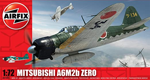 5 opinioni per Airfix Scala 1:72 Mitsubishi Zero Aereo Militare Serie 1 Model Kit