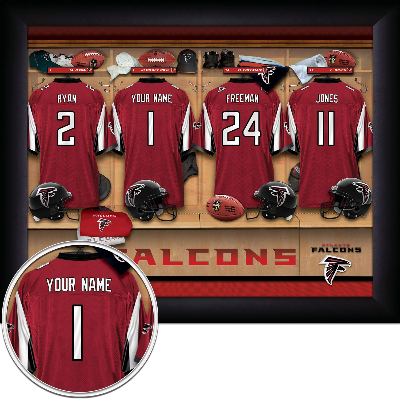 atlanta falcons personalized jersey