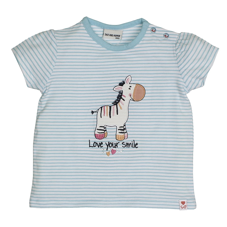 Salt & Pepper B T-Shirt Love Stripe Smile, Camiseta para Bebés SALT AND PEPPER 83212245
