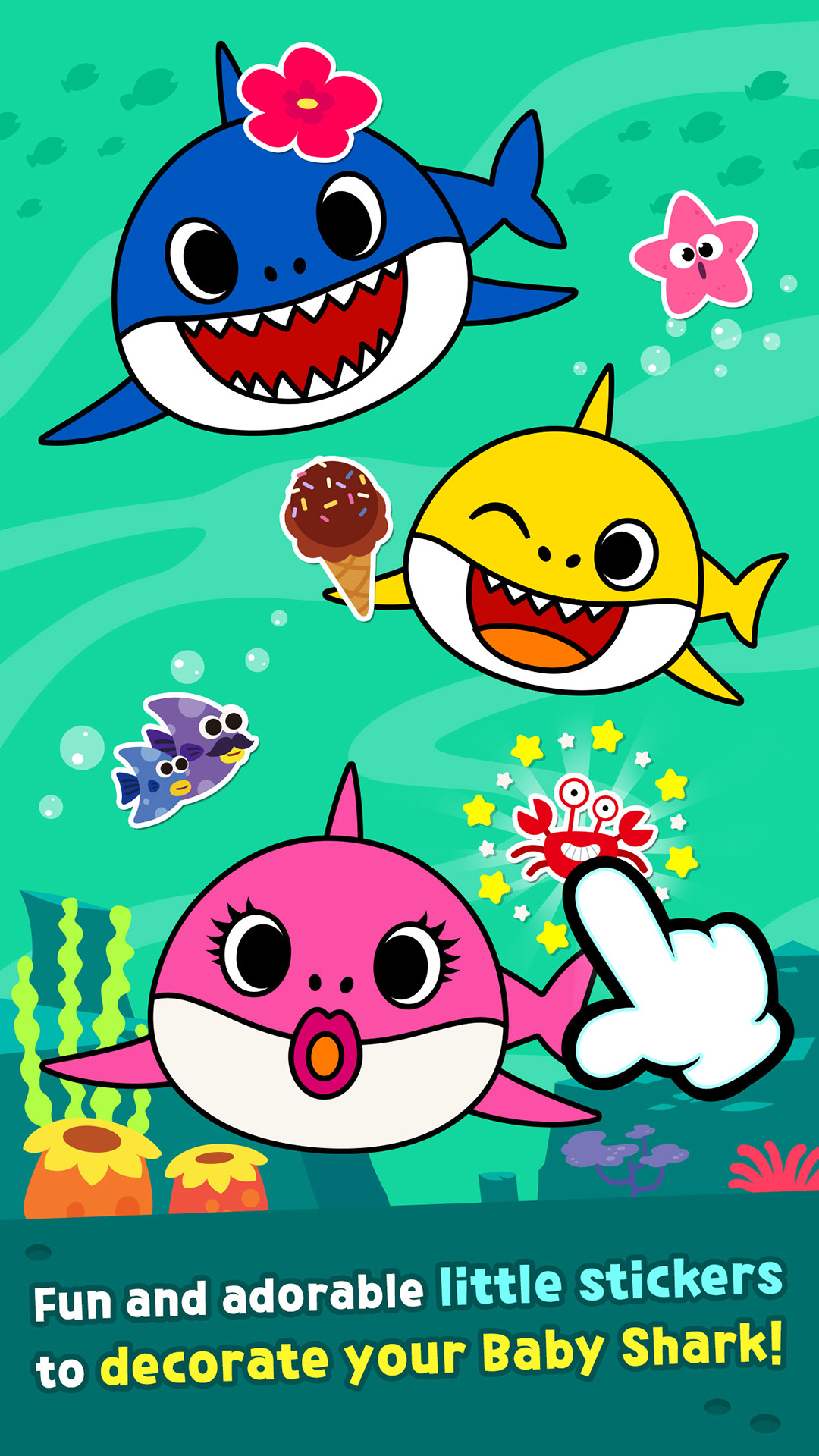 Amazon.com: Pinkfong Baby Shark Coloring Book