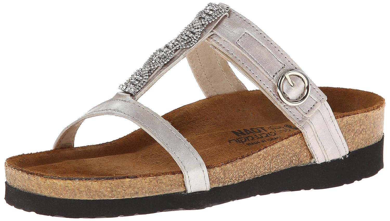 NAOT Footwear Women's Malibu Quartz Leather Sandal B003F8V9RM 40 EU/8.5 - 9 M US|Quartz Leather