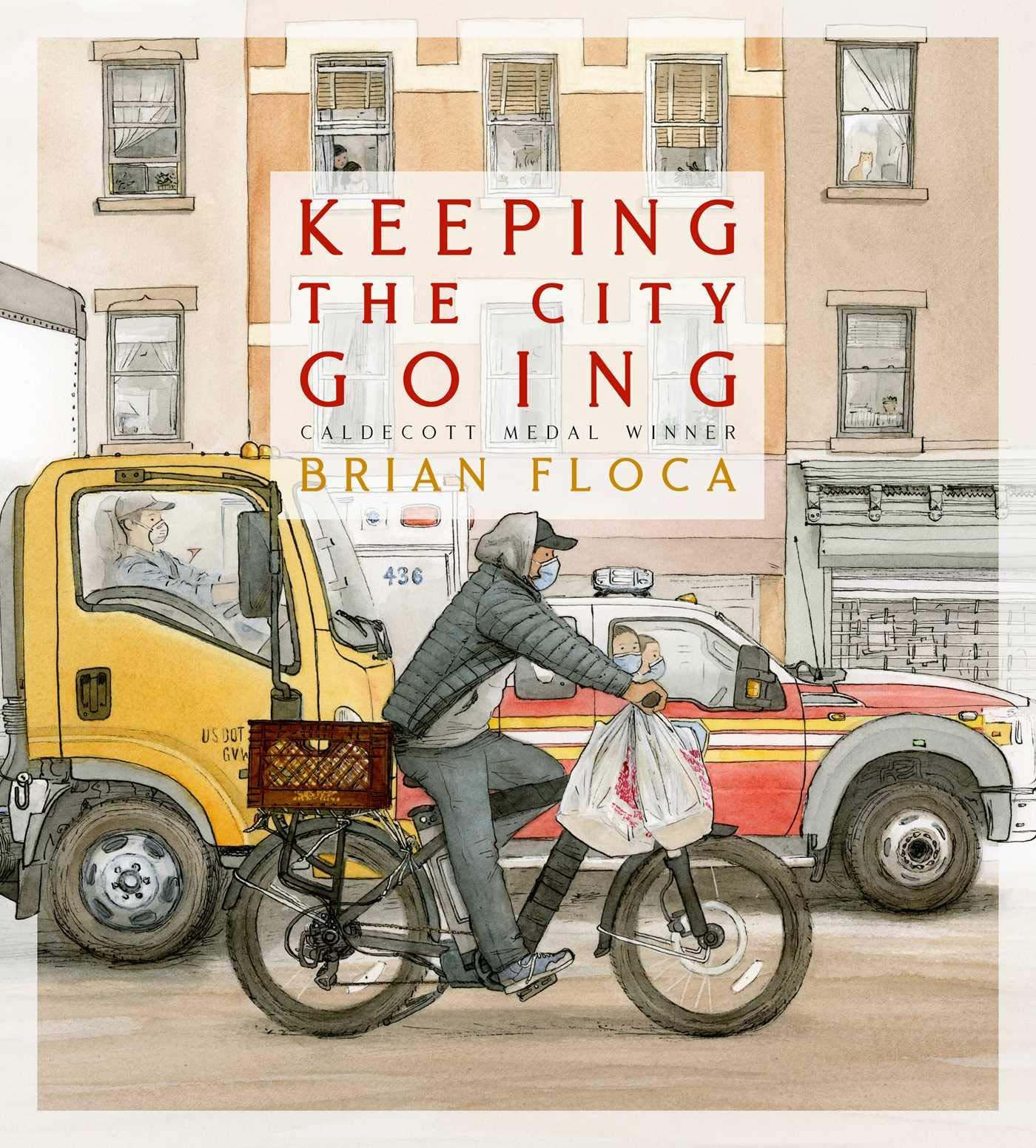 Keeping the City Going: Floca, Brian, Floca, Brian: 9781534493773: Amazon.com:  Books