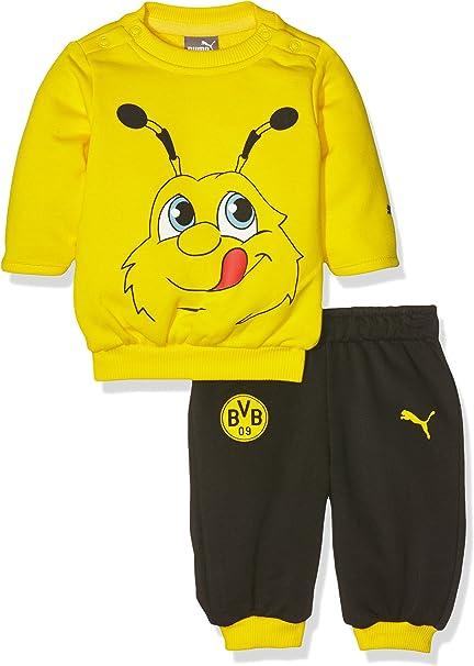 PUMA Baby BVB Minicats Jogger - Conjunto Deportivo de Jogging para ...