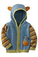 Joobles Fair Trade Organic Baby Cardigan Sweater - Racky the Raccoon