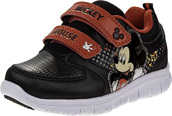 Disney Boys' Mickey Mouse Sneakers with