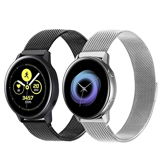 Amazon.com: Galaxy Watch 42mm/Active 40mm Bands Sets, iWonow ...