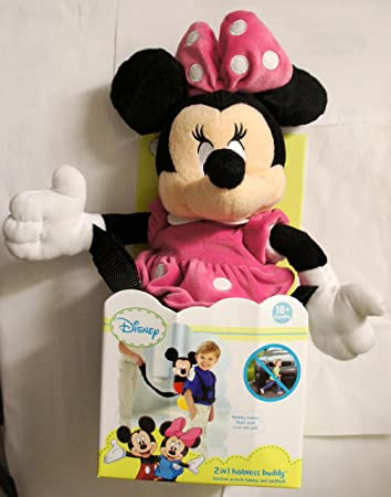 Amazon.com : Disney 2 in 1 Harness Buddy - Minnie : Baby Products :