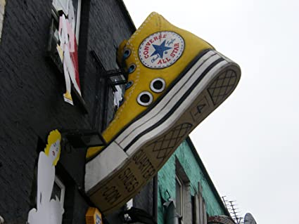 5ace0753445c Amazon.com  Home Comforts Laminated Poster Converse All Star ...