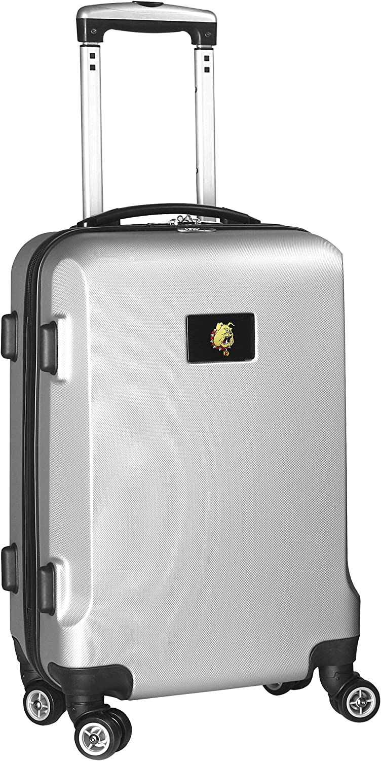 Denco Sports Luggage Ferris State University 20 Hardcase Domestic Carry-on Spinner