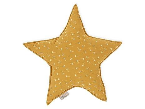 KraftKids - Cojín con forma de estrella, diseño de flores ...