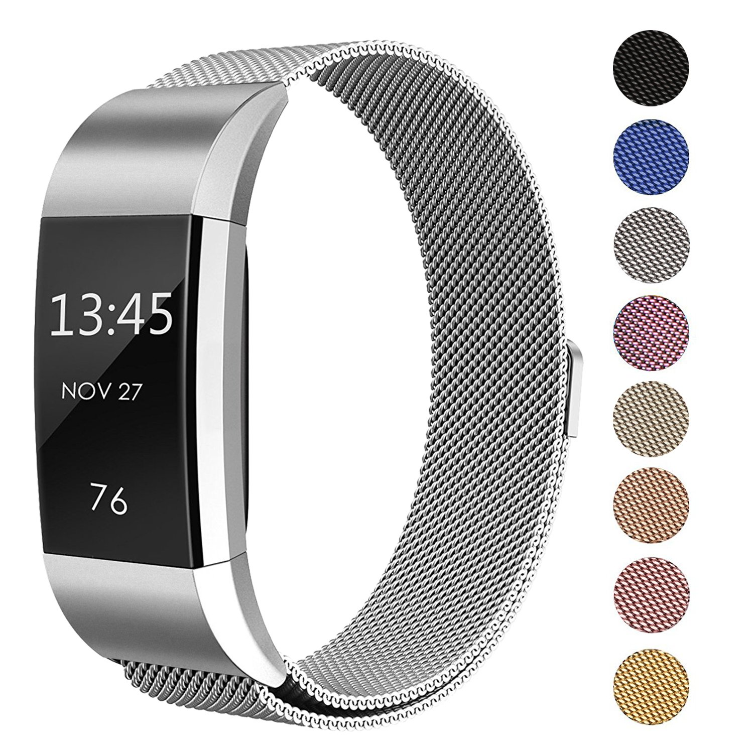 Amazon.com: Fitbit Charge 2 Heart Rate + Fitness Wristband
