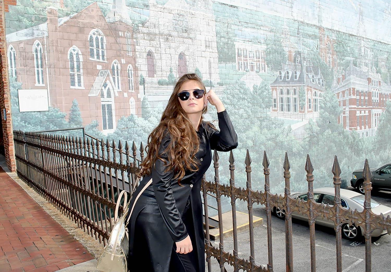 Women Metal Sunglasses Fashion Designer Twin-Beams Frame Colored Lens OWL