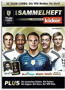 Team Cards sammel grapadora álbum de recortes WM 2018 futbolín ...