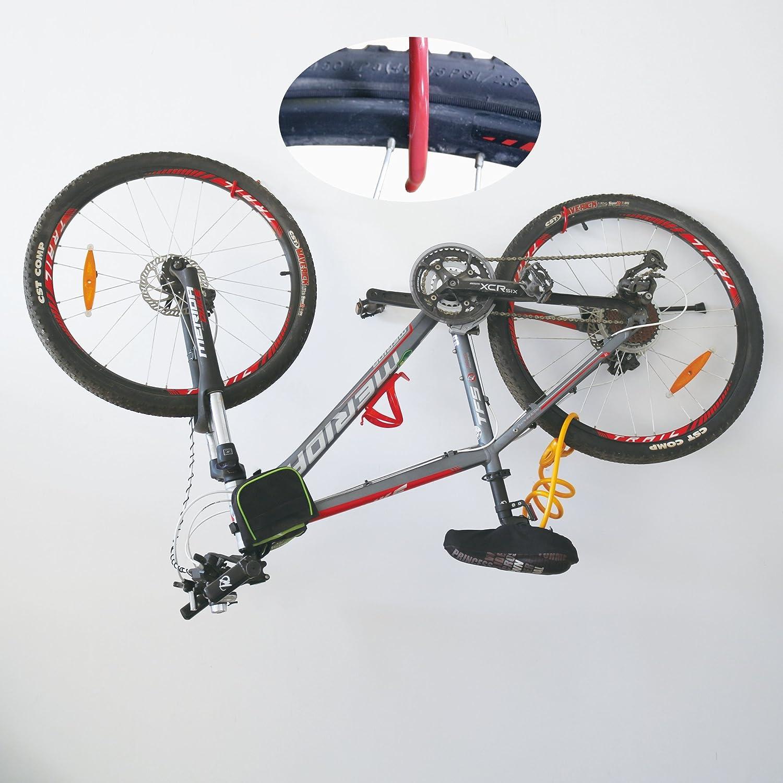 T.K.Excellent Multi-purpose and Heavy Duty Bike Storage Hooks,10 Pieces