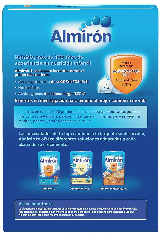 Almirón 1 Leche de inicio en polvo a partir del primer día 800 g: Amazon.es: Alimentación y bebidas