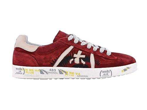 1a464bfffa PREMIATA Sneakers Uomo ANDY3098 Pelle Rosso