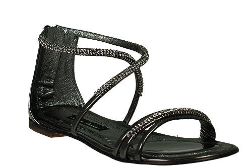 sports shoes 3aeb2 17a41 SOLIDEA Sandali con tacco 5 mm 11D402 LAMINATO CANNAFUC 41 ...