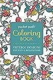 Pocket Posh Adult Coloring Book: Vintage Designs for Fun & Relaxation (Pocket Posh Coloring Books)