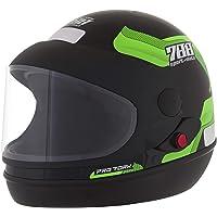 Pro Tork Capacete Sport Moto 788 58 Preto/Verde