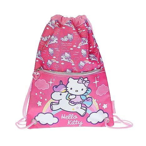 Hello Kitty Magic Dream Mochila Bolso Escolar Bolsa cuerdas S3