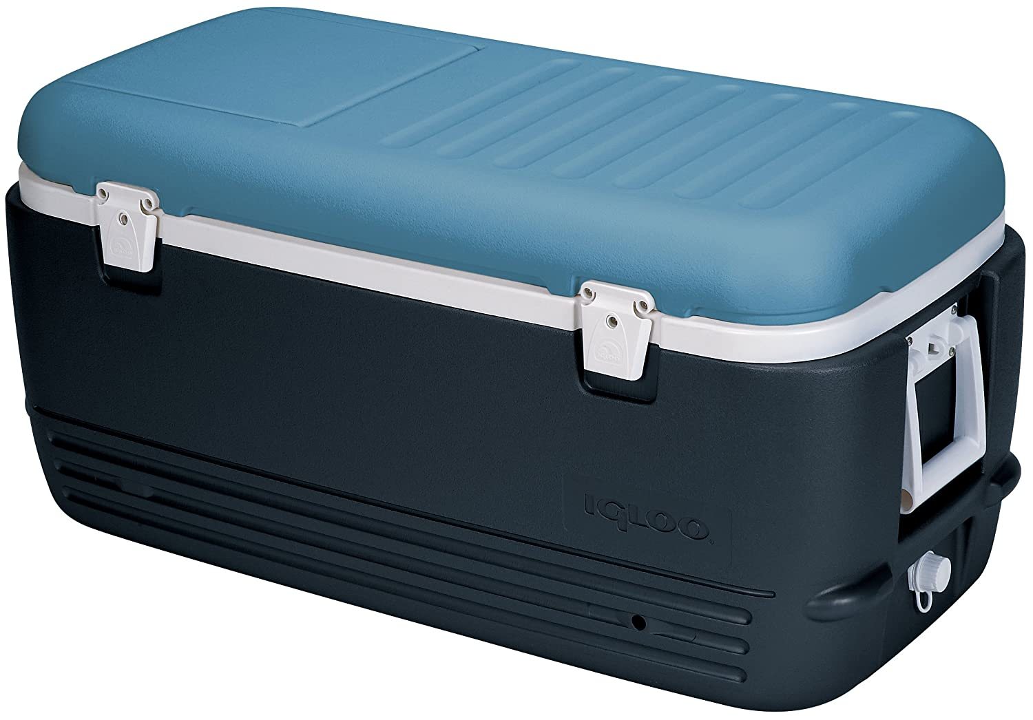 Igloo Unisex's Maxcold 100 Coolbox, Ice Blue, 95 Litre 49496