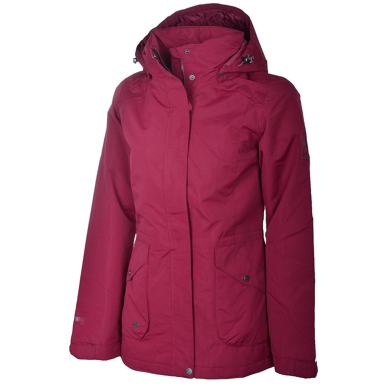 McKinley Rose ligera acolchada Mujer Función chaqueta chaqueta, mujer, rojo vino, 36
