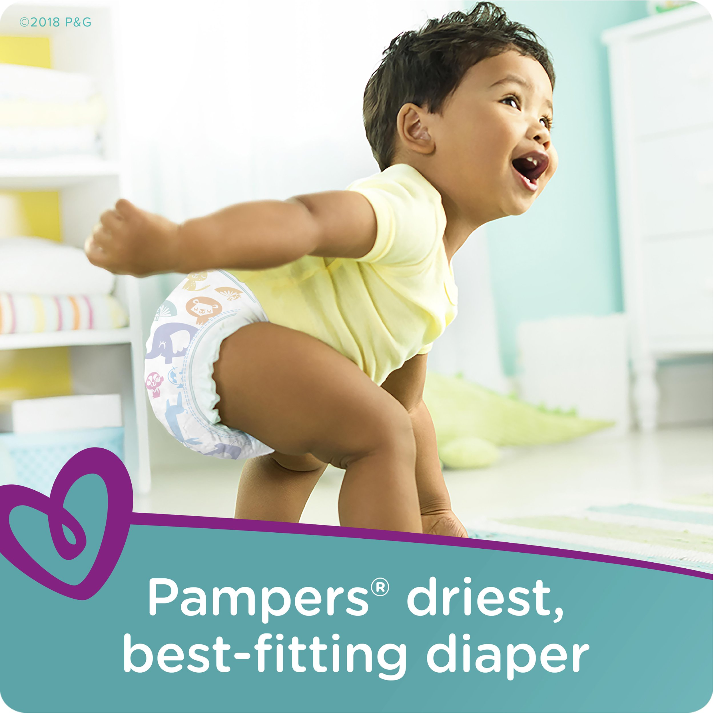 Pampers Cruisers Disposable Diapers Size 6, 108 Count by Pampers (Image #3)