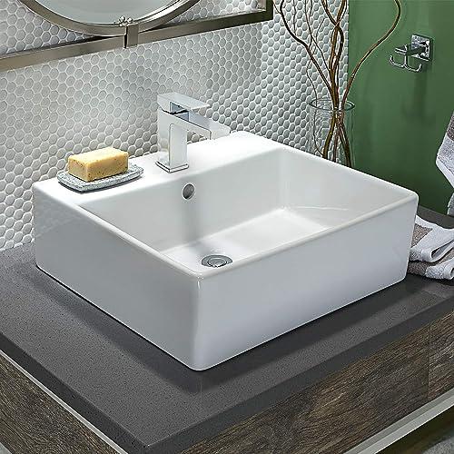 Ultra Faucets Icon Collection Single-Handle Short Vessel Lavatory Faucet Chrome