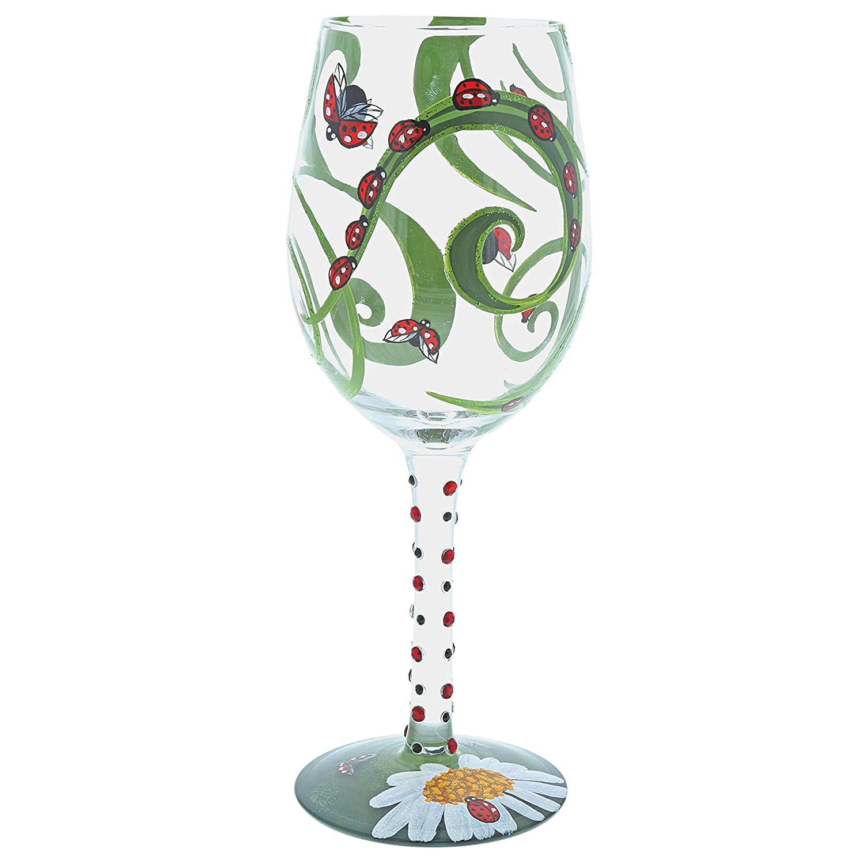 Lolita 6001626 Verre à Vin, Multicolore, 23 x 9 x 23 cm ENESCO