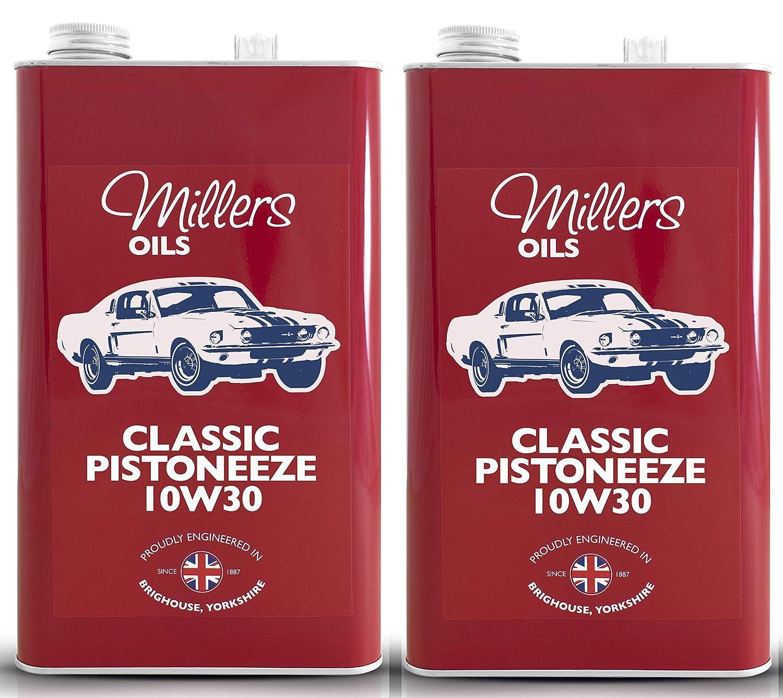Millers Oil Classic Pistoneeze 10w30 Aceite de Motor Mineral, 10 ...
