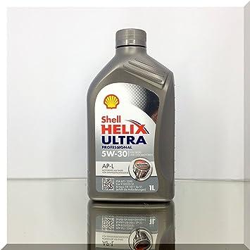 SHELL 1293001 Aceite para motor Helix Ultra APL 5W-30, 1 l: Amazon.es: Coche y moto