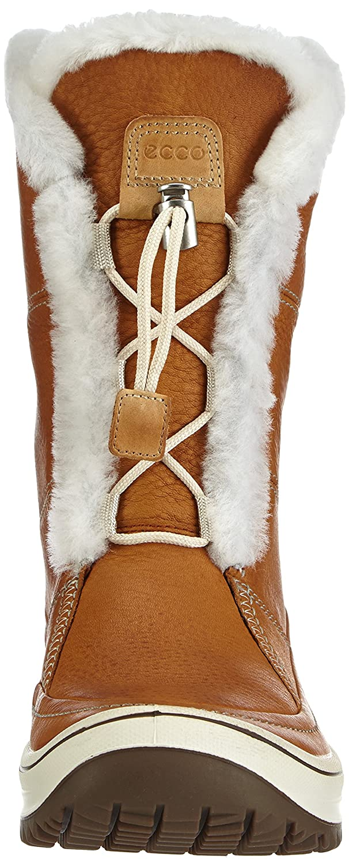 ECCO Women's Trace Tie Hydromax Snow Boot B00H9IBPZK 40 EU/9-9.5 M US|Amber