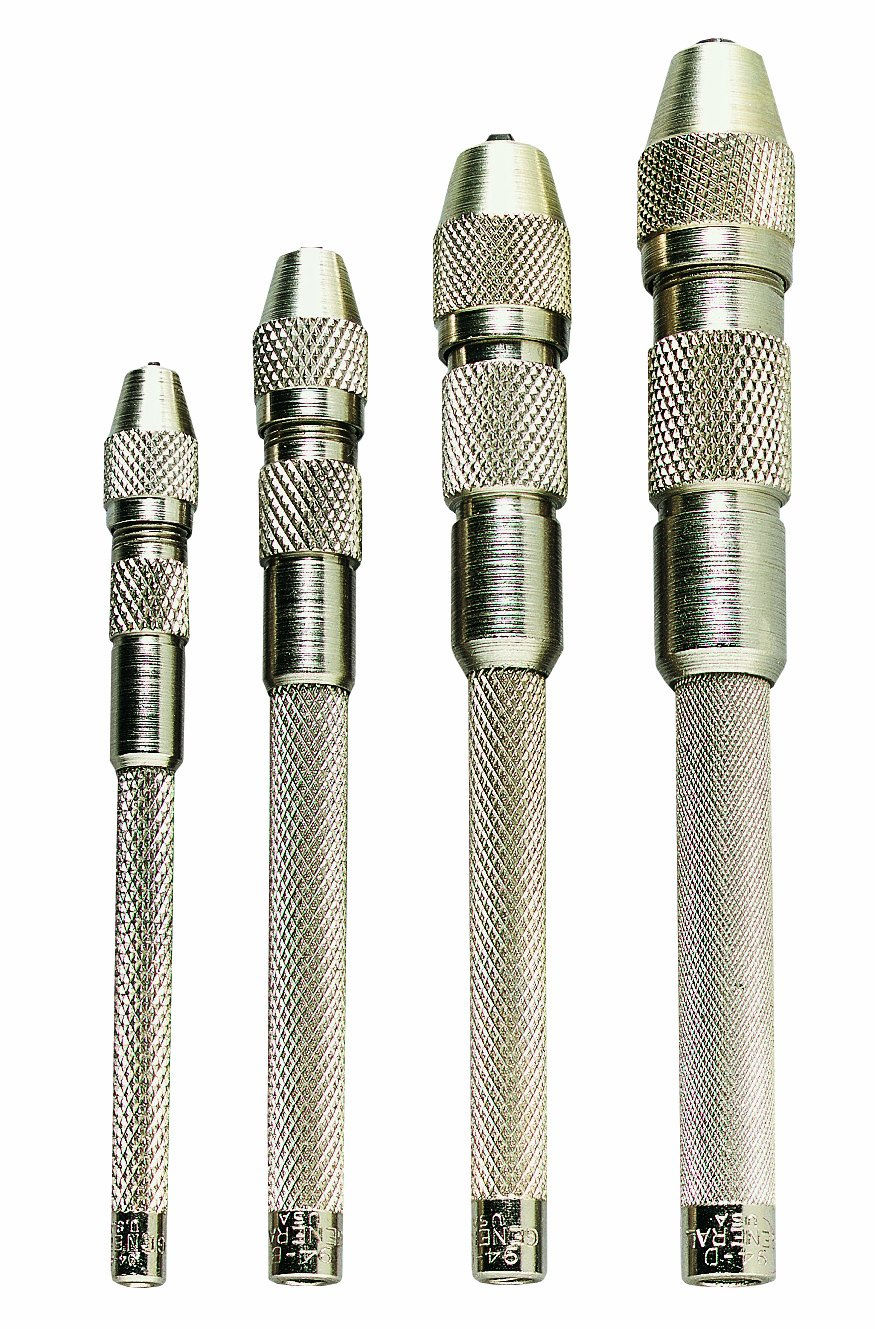 General Tools S94 Single End Pin Vise Set